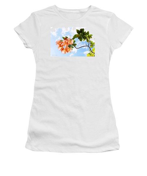 Bell Flowers In The Sky Women's T-Shirt