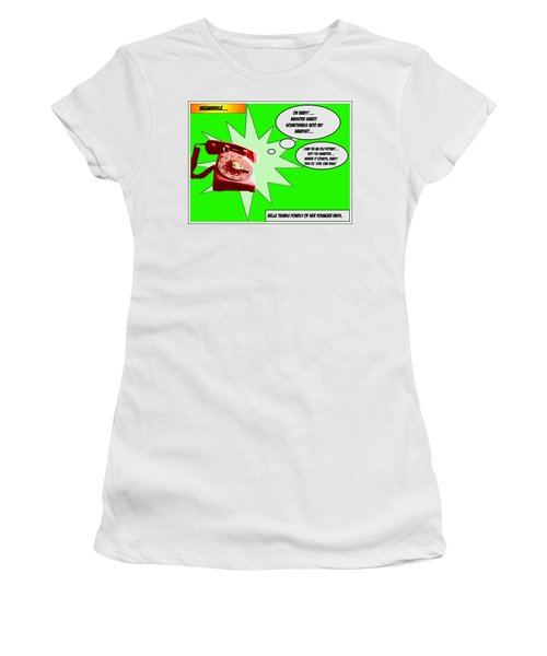 Women's T-Shirt (Junior Cut) featuring the photograph Belle by Christopher Woods