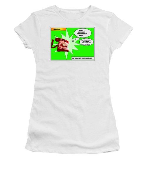 Belle Women's T-Shirt (Junior Cut) by Christopher Woods