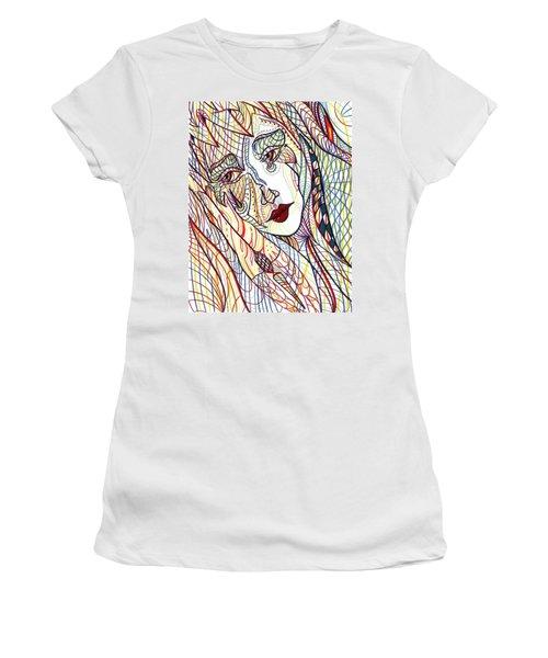 Beneath The Black Veil Women's T-Shirt (Athletic Fit)