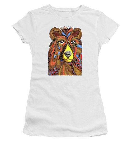 Benjamin Bear Women's T-Shirt (Athletic Fit)