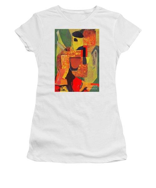 Beret Ballet Women's T-Shirt (Junior Cut) by Randall Weidner
