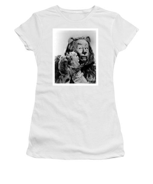 Cowardly Lion In The Wizard Of Oz Women's T-Shirt
