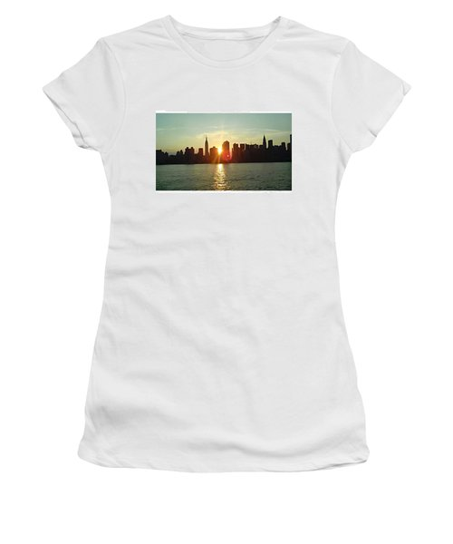 Best Place I've Ever Been ❤ #newyork Women's T-Shirt (Athletic Fit)