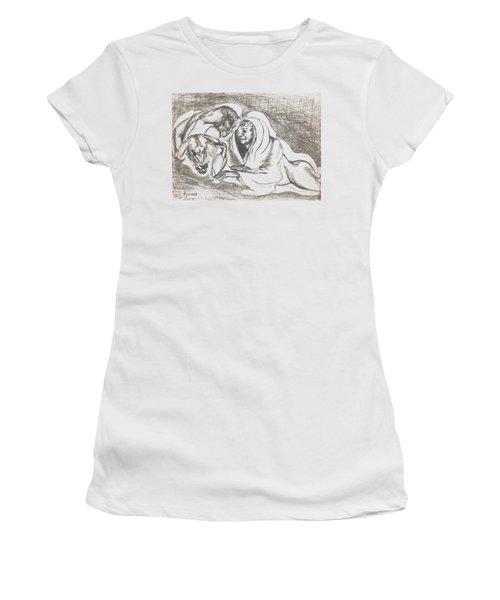 betrayal. May, 1996 Women's T-Shirt (Junior Cut) by Tatiana Chernyavskaya