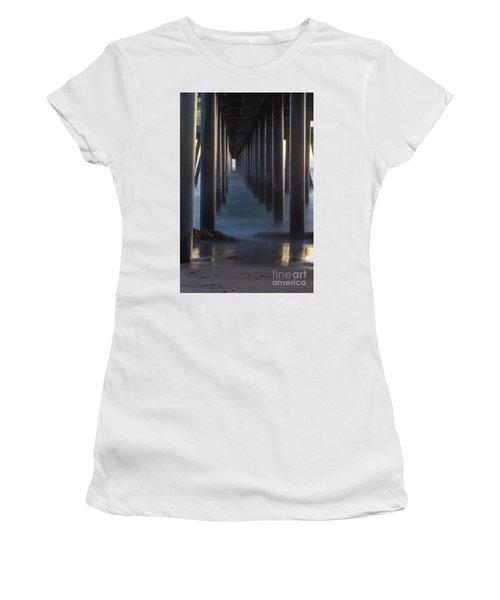 Between The Pillars  Women's T-Shirt (Athletic Fit)