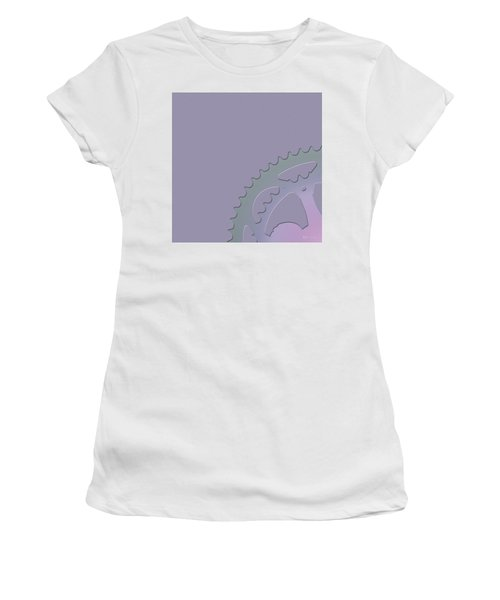 Bicycle Chain Ring - 1 Of 4 Women's T-Shirt (Athletic Fit)