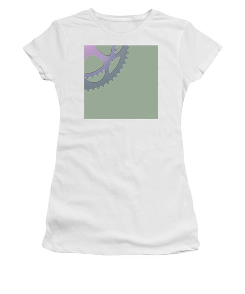 Bicycle Chain Ring - 4 Of 4 Women's T-Shirt (Athletic Fit)