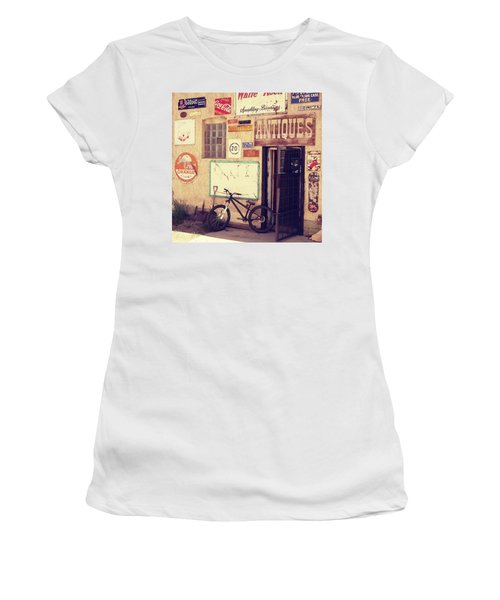 Bike Store Salida Colorado Women's T-Shirt (Athletic Fit)