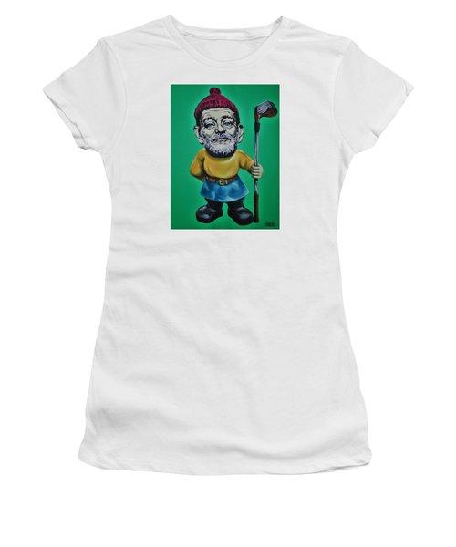 Bill Murray Golf Gnome Women's T-Shirt