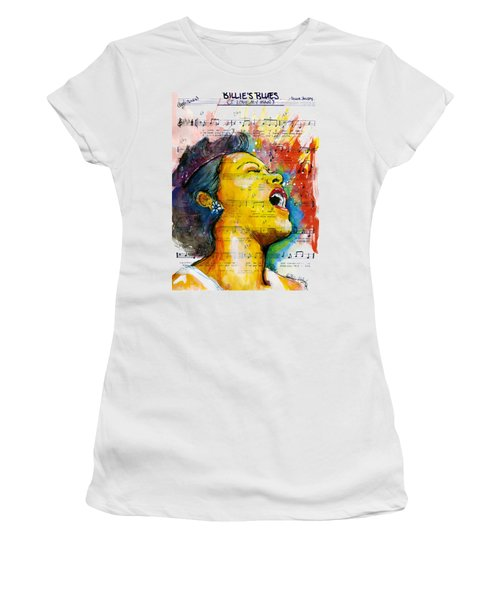Billie's Blues Women's T-Shirt (Athletic Fit)