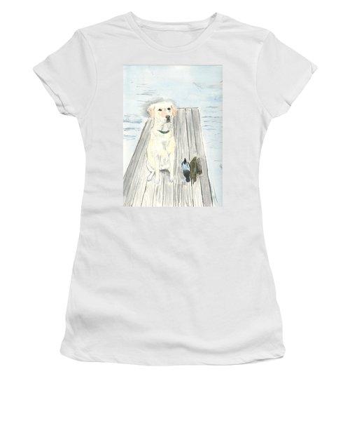 Bird Dog Women's T-Shirt (Athletic Fit)