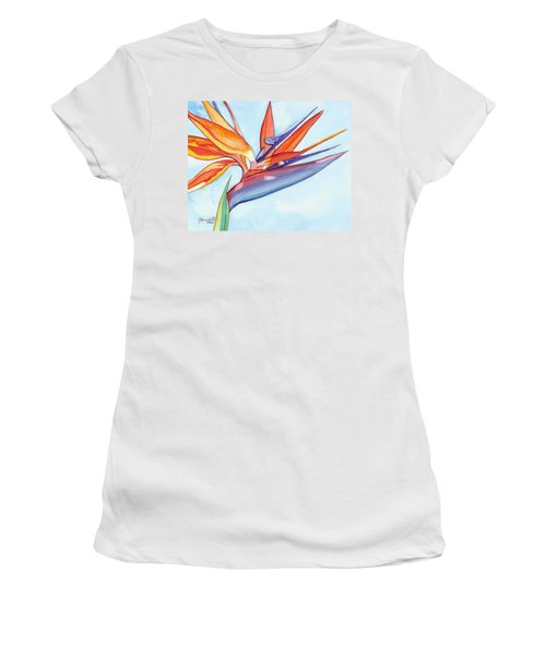 Bird Of Paradise IIi Women's T-Shirt (Athletic Fit)