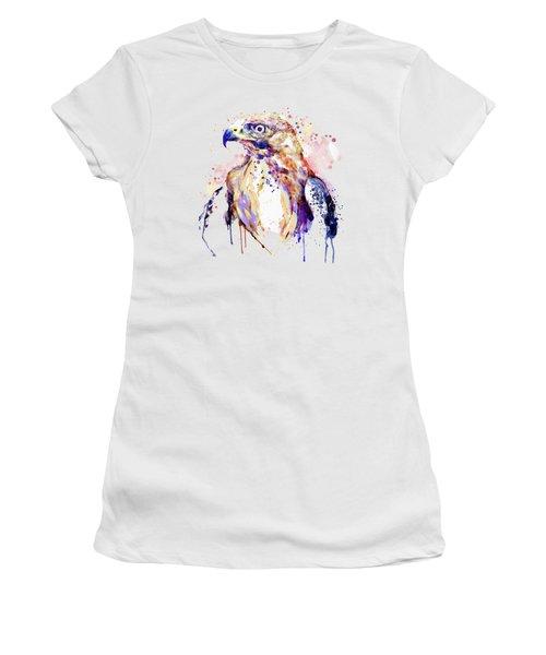 Bird Of Prey  Women's T-Shirt (Junior Cut) by Marian Voicu