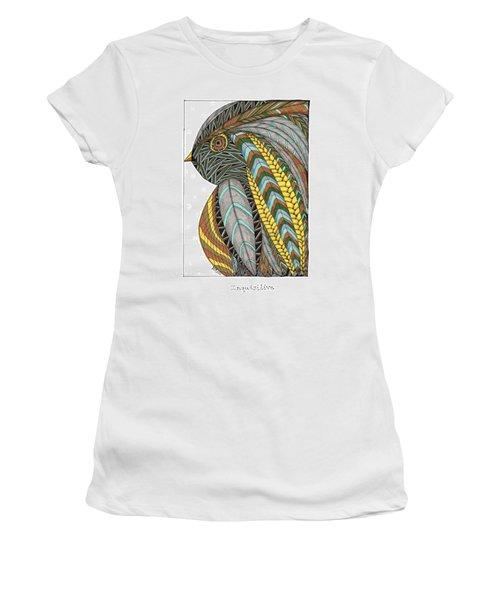 Bird_inquisitive_s007 Women's T-Shirt