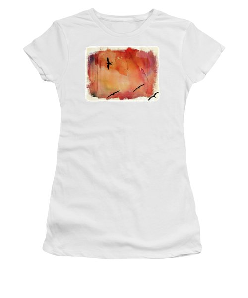 Birds Of Pedasi, In The Dry Arc Of Panama II Women's T-Shirt (Athletic Fit)