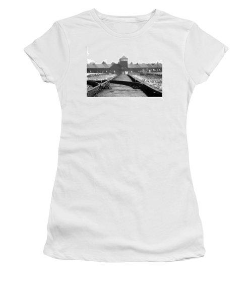 Birkenau / Auschwitz Railhead - Pol402324 Women's T-Shirt
