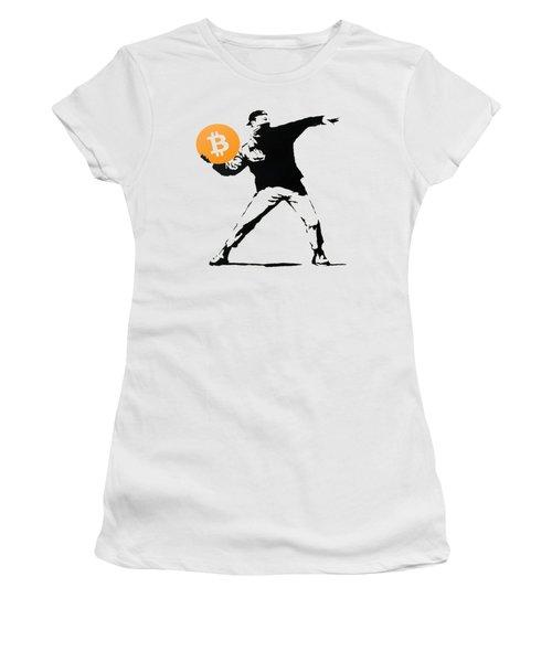 Bitcoin Bomber Women's T-Shirt