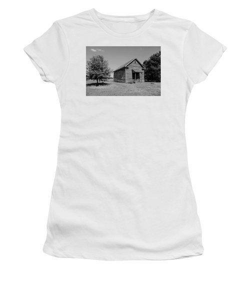 Black And White 108 Women's T-Shirt (Athletic Fit)