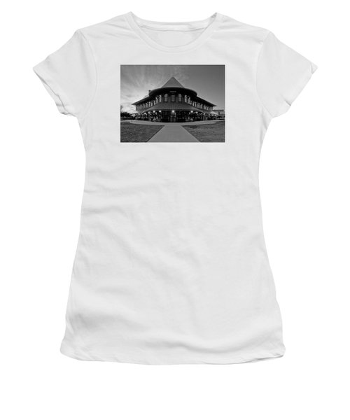 Black And White 139 Women's T-Shirt (Athletic Fit)