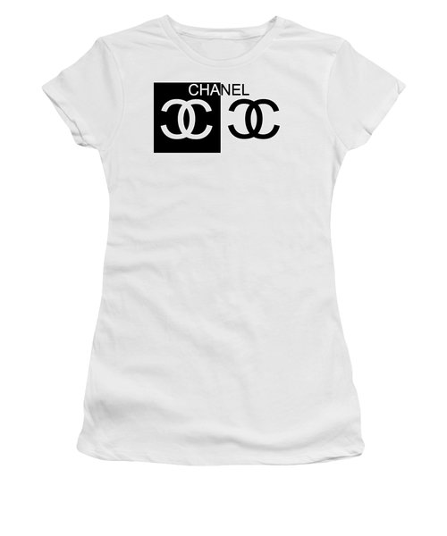 Black And White Chanel 2 Women's T-Shirt