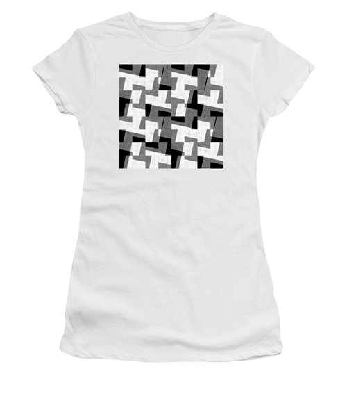 Black And White Study Women's T-Shirt
