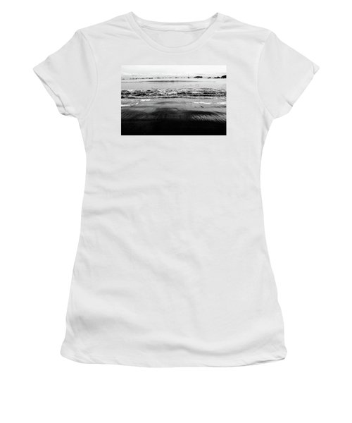 Black Beach  Women's T-Shirt