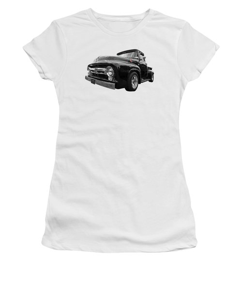 Black Beauty - 1956 Ford F100 Women's T-Shirt