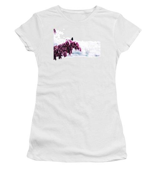 Blackbird In The Rain Women's T-Shirt
