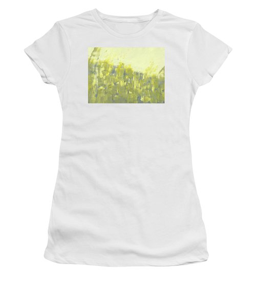 Bladverk I Motljus  - Sunlit Leafs_0158 Up To 76 X 51 Cm Women's T-Shirt