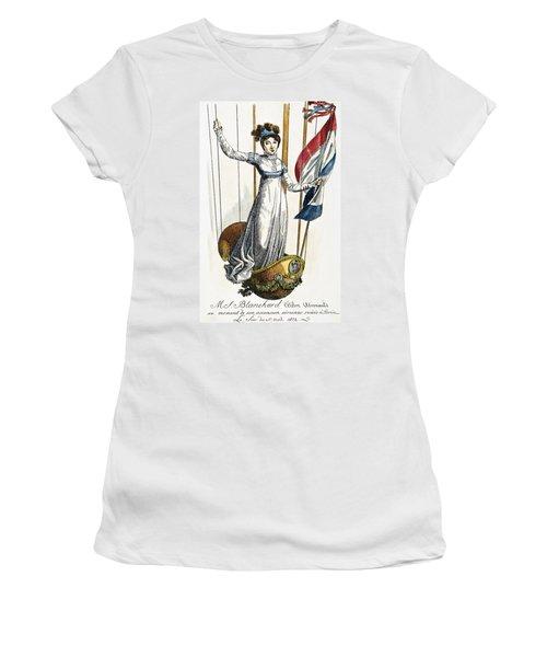 Blanchard: Italy, 1812 Women's T-Shirt