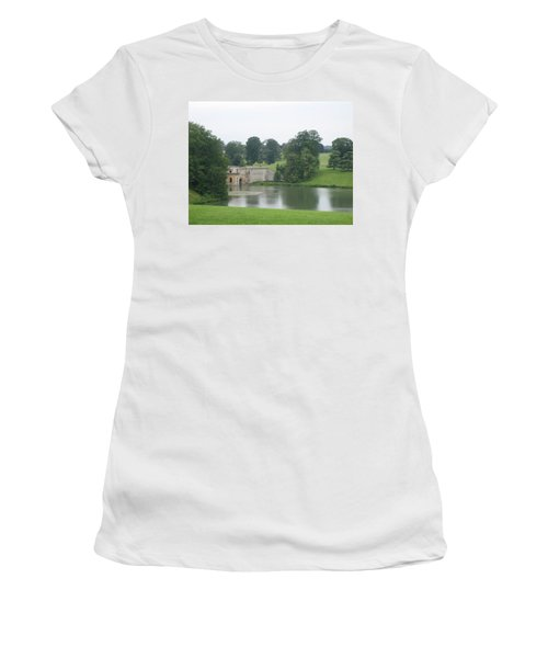 Blenheim Palace Lake Women's T-Shirt