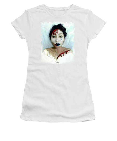 Blood Sweat Tears Faced Women's T-Shirt