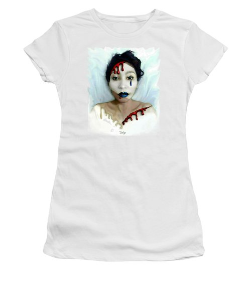 Blood Sweat Tears Faced Women's T-Shirt (Athletic Fit)