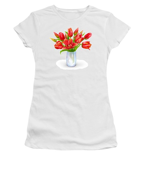 Bloomers Women's T-Shirt (Junior Cut) by Now
