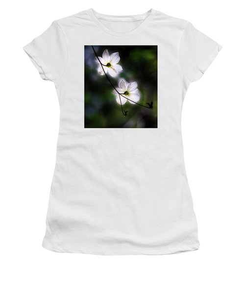 Blooming Dogwoods In Yosemite 2 Women's T-Shirt (Athletic Fit)