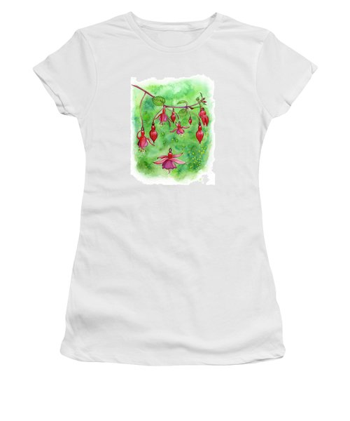 Blossom Fairies Women's T-Shirt (Athletic Fit)