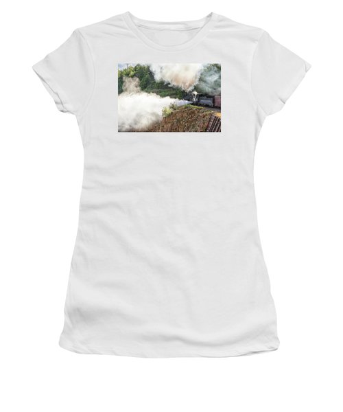 Blowing Off Steam Women's T-Shirt