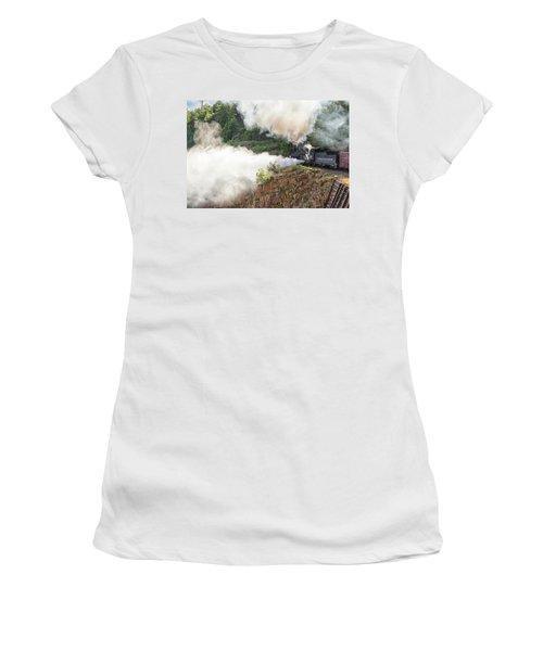 Blowing Off Steam Women's T-Shirt