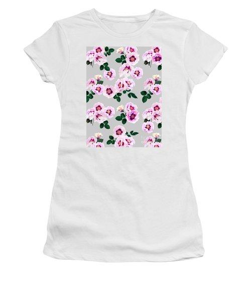 Blue Eyes Roses Women's T-Shirt
