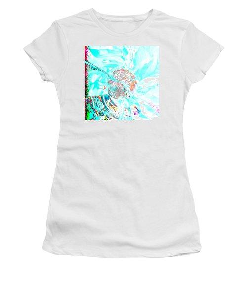 Blue Flower Women's T-Shirt