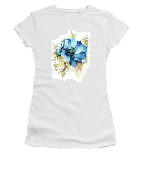 Blue Gem Women's T-Shirt (Athletic Fit)