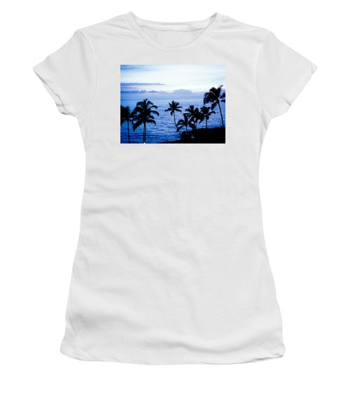 Blue Hawaii Women's T-Shirt (Athletic Fit)