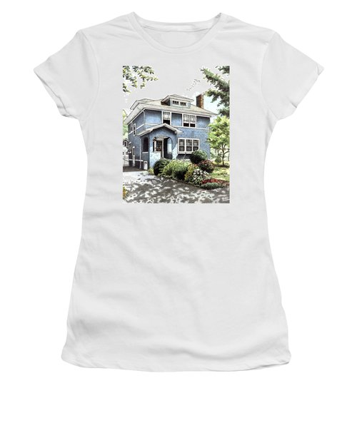 Blue House Women's T-Shirt