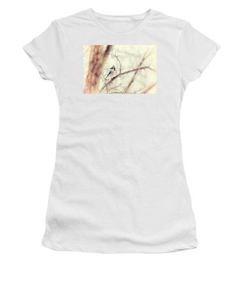 Blue Jay Winter Women's T-Shirt
