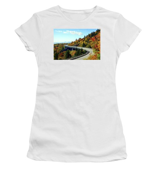 Blue Ridge Parkway Viaduct Women's T-Shirt (Athletic Fit)