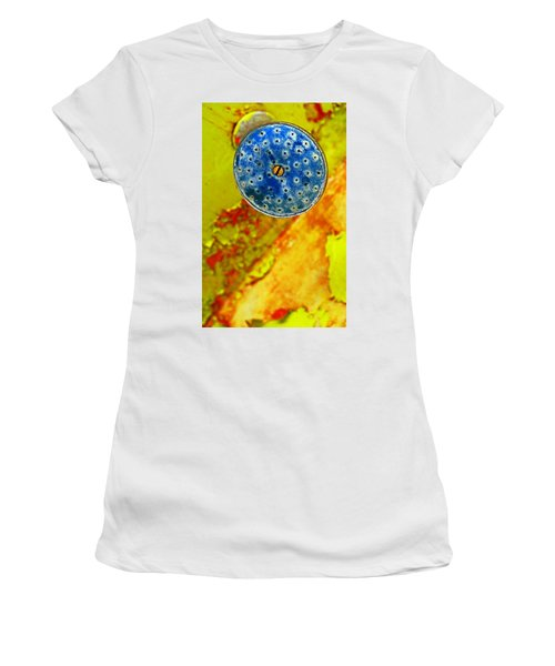 Blue Shower Head Women's T-Shirt (Athletic Fit)