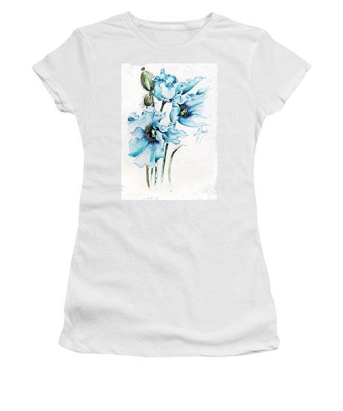 Blue Wind Women's T-Shirt (Athletic Fit)