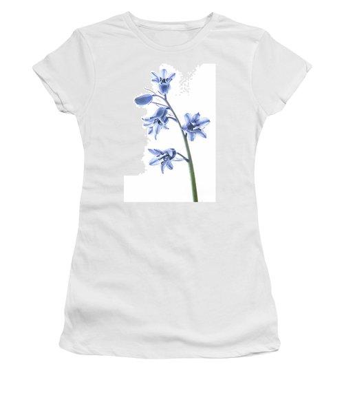 Bluebell Stem Women's T-Shirt (Athletic Fit)