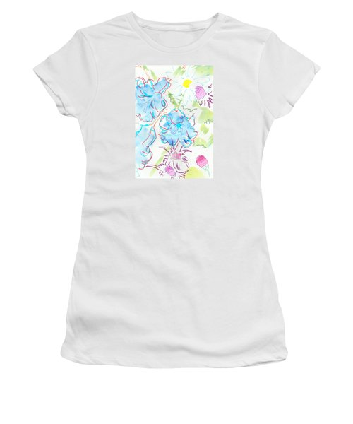 Bluebells English Wild Flowers Women's T-Shirt